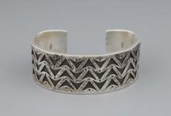 Kee Yazzie Silver Bracelet