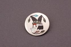 Sanford Edaakie Hummingbird Pendant