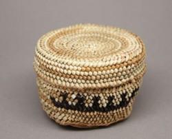 Miniature Twined Makah Basket