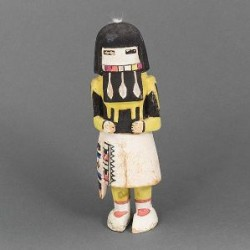 Hopi Long Hair Kachina circa 1935