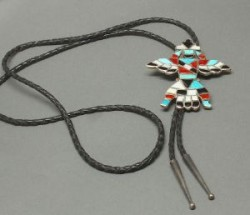 Traditional Zuni Knifewing Bolo Possibly Dan Simplicio