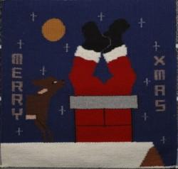 Joanne Begay Santa Claus Weaving