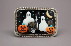 Halloween Buckle by Beverly Etsate