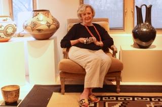 Martha Struever in Her Gallery